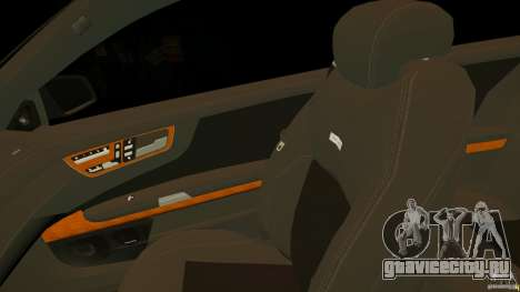 Mercedes-Benz CL65 AMG Stock для GTA 4 вид сверху