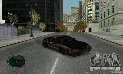 Honda CRX Tuned для GTA San Andreas вид справа