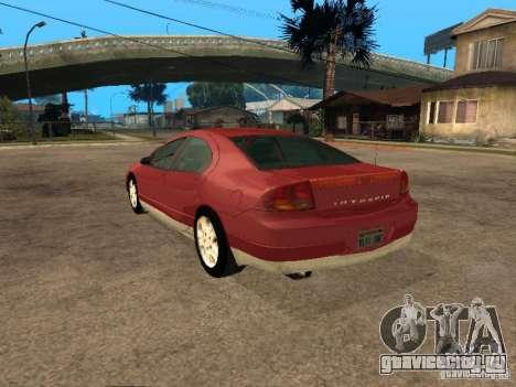 Dodge Intrepid для GTA San Andreas вид слева