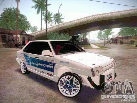 ВАЗ 21099 Drift Style для GTA San Andreas вид справа