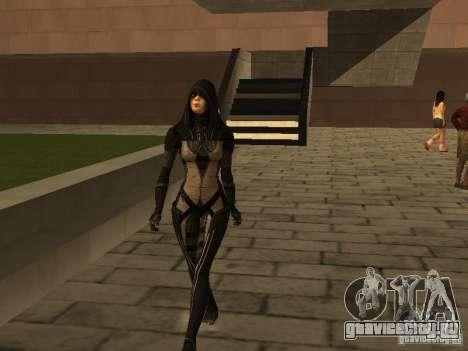 Girls from ME 3 для GTA San Andreas четвёртый скриншот