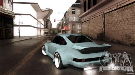 Porsche 911 Turbo RWB DS для GTA San Andreas вид слева