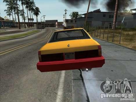 Sentinel Taxi для GTA San Andreas вид справа