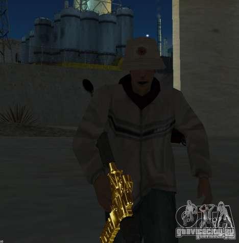 [GOLD] m4 для GTA San Andreas третий скриншот