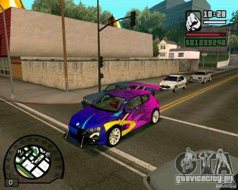 Volswagen Scirocco для GTA San Andreas вид слева