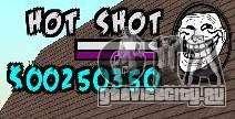 HUD by Hot Shot для GTA San Andreas