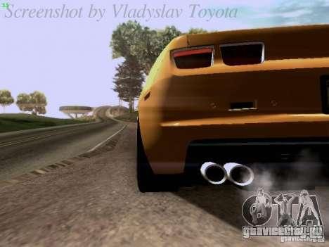Chevrolet Camaro ZL1 2012 для GTA San Andreas вид сбоку