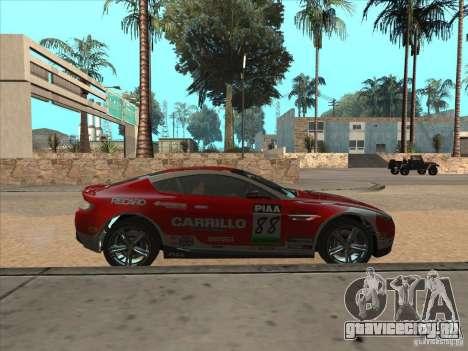 Aston Martin v8 Vantage n400 для GTA San Andreas вид справа