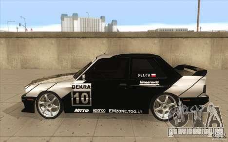 BMW E30 M3 - Coupe Explosive для GTA San Andreas вид слева