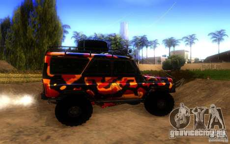 УАЗ 4х4 для GTA San Andreas вид слева