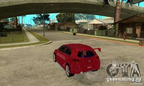 Alfa Romeo 147 для GTA San Andreas вид сзади слева