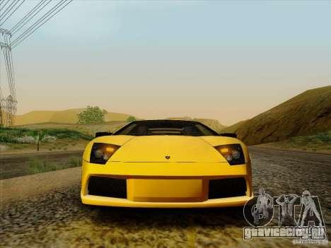 Lamborghini Murcielago LP640-4 для GTA San Andreas вид справа