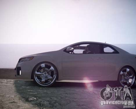 Kia Cerato Koup 2011 для GTA 4 вид справа