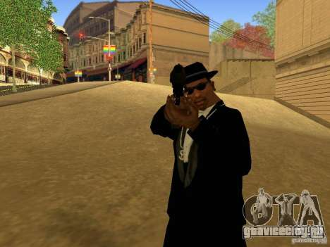 Desert Eagle MW3 для GTA San Andreas пятый скриншот