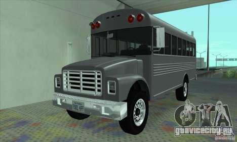 Civil Bus для GTA San Andreas
