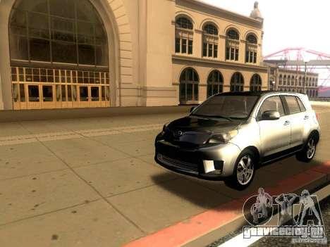 Scion xD для GTA San Andreas вид сзади слева