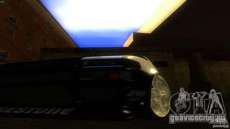 Toyota AE86 Trueno Touge Drift для GTA San Andreas вид изнутри