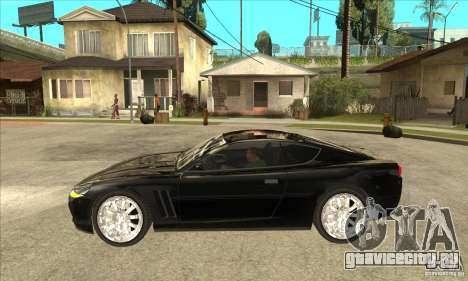 GTA IV SuperGT для GTA San Andreas вид слева