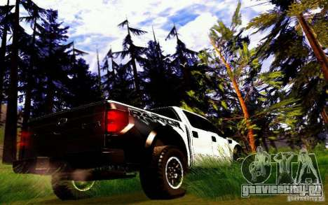 Ford Raptor Crewcab 2012 для GTA San Andreas вид справа