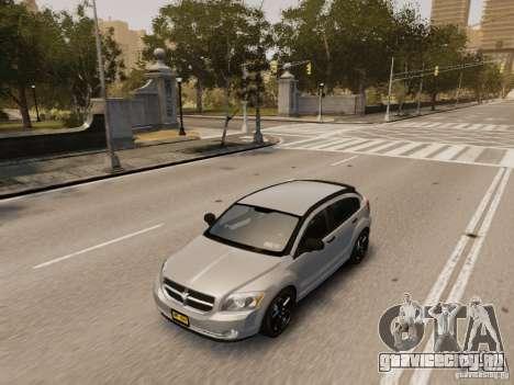 Dodge Caliber для GTA 4 вид сверху
