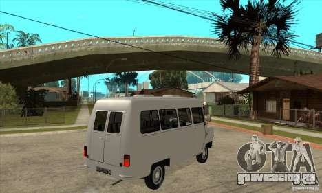 FSD Nysa 522 для GTA San Andreas вид сзади