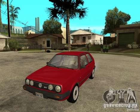 Volkswagen Golf Mk.II для GTA San Andreas