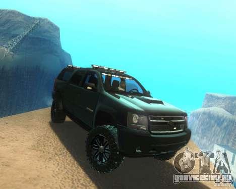 Chevrolet Suburban Crankcase Transformers 3 для GTA San Andreas вид справа