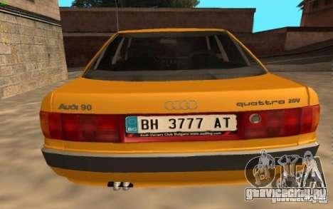 Audi 90 Quattro 20V для GTA San Andreas вид слева