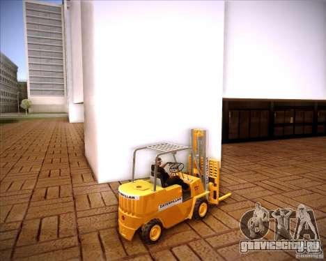 Caterpillar Torocat для GTA San Andreas вид слева