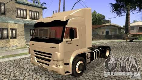 КамАЗ 5460 Евро 3 420 Турбо для GTA San Andreas вид сбоку