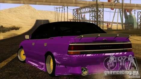 Subaru Legacy Drift Union для GTA San Andreas вид слева