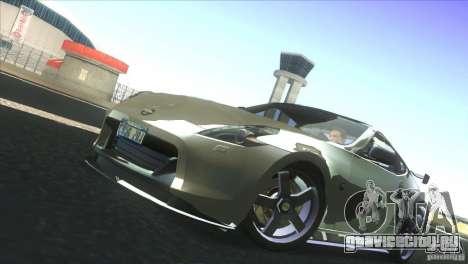 Nissan 370Z Drift 2009 V1.0 для GTA San Andreas вид изнутри