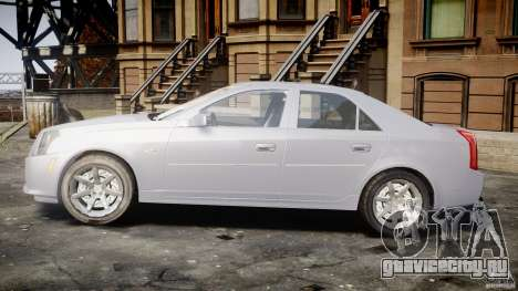 Cadillac CTS для GTA 4 вид изнутри