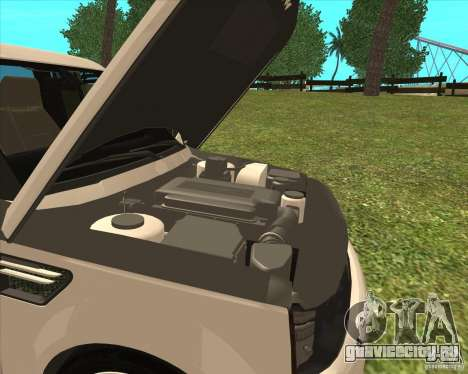 Range Rover Sport 2012 для GTA San Andreas вид справа