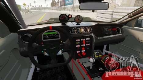 Ford Mustang 2010 GT1 для GTA 4 вид сзади