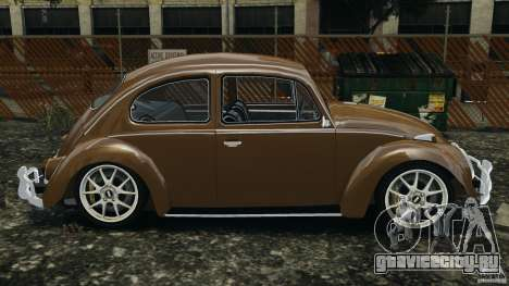Volkswagen Fusca Gran Luxo v2.0 для GTA 4 вид слева