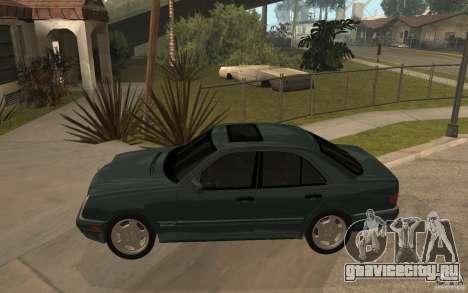 Mercedes-Benz E420 W210 1997 для GTA San Andreas вид слева