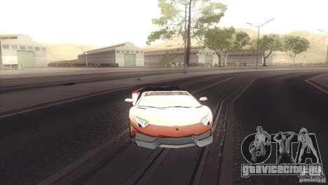 2013 Lamborghini Aventador LP700-4 Roadstar для GTA San Andreas вид слева