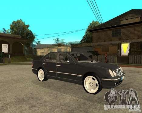 Mercedes–Benz E Class для GTA San Andreas вид справа