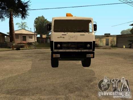 МАЗ 54323 ЭВАКУАТОР для GTA San Andreas вид сзади