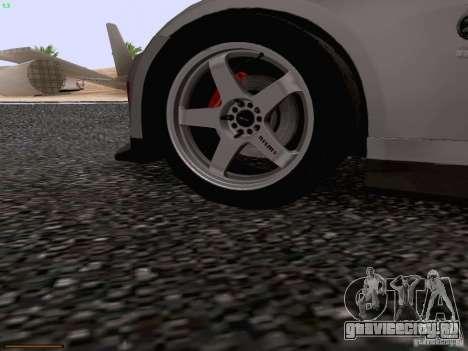 Nissan 350Z Nismo S-Tune для GTA San Andreas салон