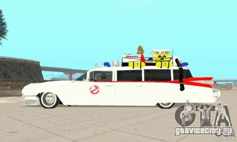 Ghostbusters ECTO 1 для GTA San Andreas вид справа