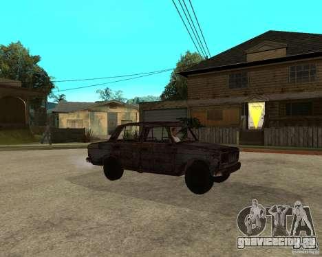 ВАЗ-2106 для GTA San Andreas вид справа