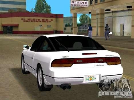 Nissan 200SX для GTA Vice City вид слева