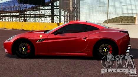 Ferrari California Novitec для GTA 4 вид слева