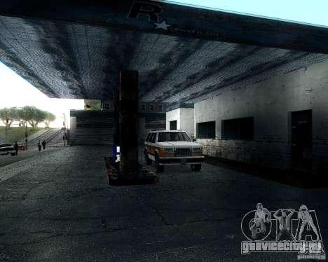 Landstalker для GTA San Andreas вид изнутри