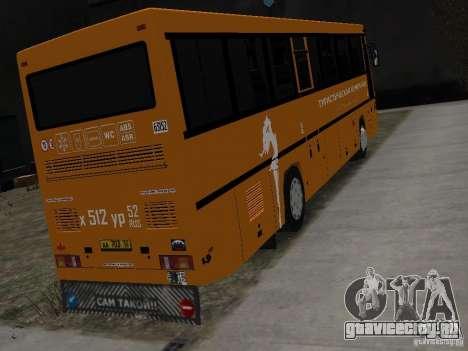 МАЗ 152А для GTA 4 вид сзади слева