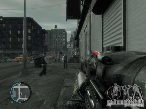М4А1 для GTA 4 второй скриншот
