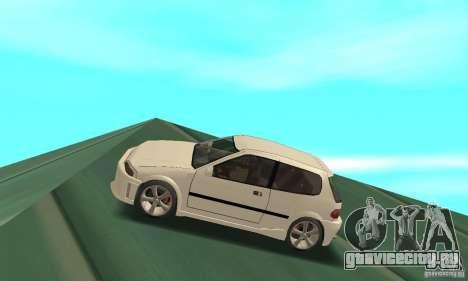 Honda Civic SiR II Tuning для GTA San Andreas вид слева