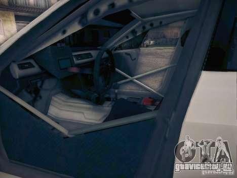BMW 320SI Drift для GTA San Andreas салон